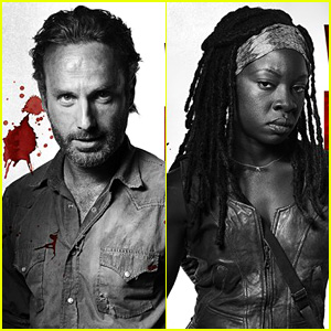 Walking Dead's Danai Gurira Talks That Shocking Moment Between Michonne & Rick!