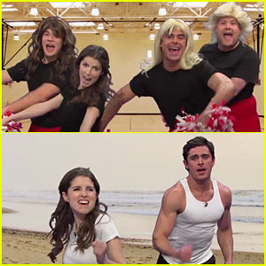 Zac Efron & Anna Kendrick Do 'History of Sports Movies' with James Corden!