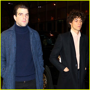 Zachary Quinto & Boyfriend Miles McMillan Share Cute Date Night Photos!