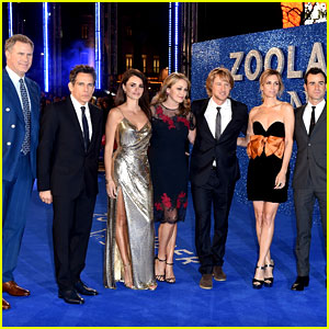 Ben Stiller Sets Longest Selfie Stick Record at 'Zoolander 2' London Premiere!
