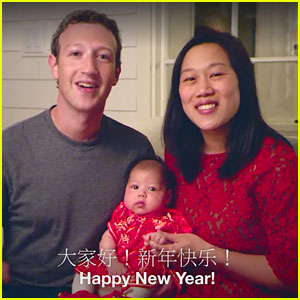 Mark Zuckerberg Celebrates Lunar New Year in Chinese Speaking Video With Family - Watch Now