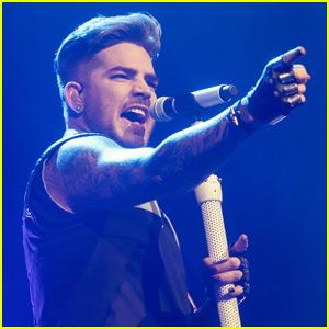 Adam Lambert Takes 'The Original High' Tour to NYC