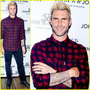 Adam Levine Makes Official Apperance In Brazil After Behati Prinsloo Pregnancy Announcement!