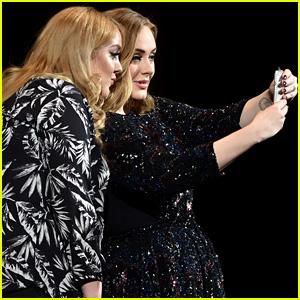 Adele Meets Her Doppleganger, Snaps a Selfie Mid-Concert!