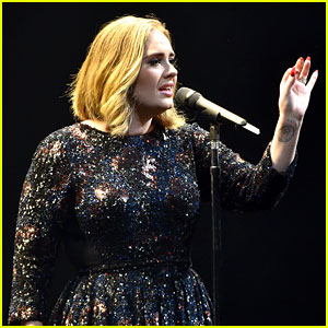 Adele Spots Proposal at Concert, Pulls Couple On Stage (Video)