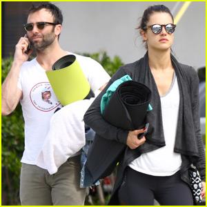 Alessandra Ambrosio & Jamie Mazur Get Their Fitness On