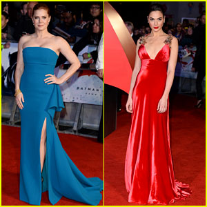 Amy Adams & Gal Gadot Stun at 'Dawn of Justice' London Premiere!