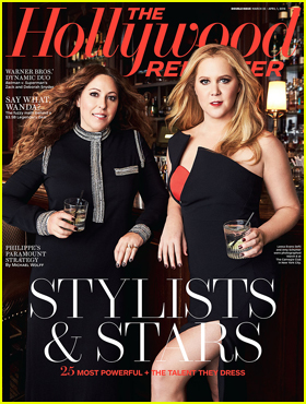Amy Schumer, Michael B. Jordan, & More Pose With Their Stylists for New 'Hollywood Reporter' Covers