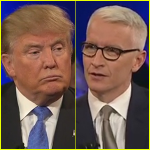 Anderson Cooper Tells Donald Trump He's Using the 'Argument of a Five-Year-Old' (Video)