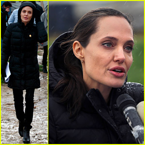 Angelina Jolie Visits Syrian Refugee Camp, Calls Situation 'Tragic & Shameful'
