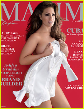 Ashley Graham Strips Down for Sexy 'Maxim' Spread!