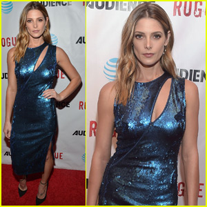 Ashley Greene Shines at the 'Rogue' Premiere