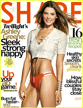 Ashley Greene Puts Her Rock Hard Abs on Display for 'Shape'