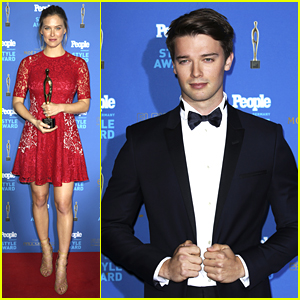 Bar Refaeli & Patrick Schwarzenegger Honored at People Style Awards in Germany
