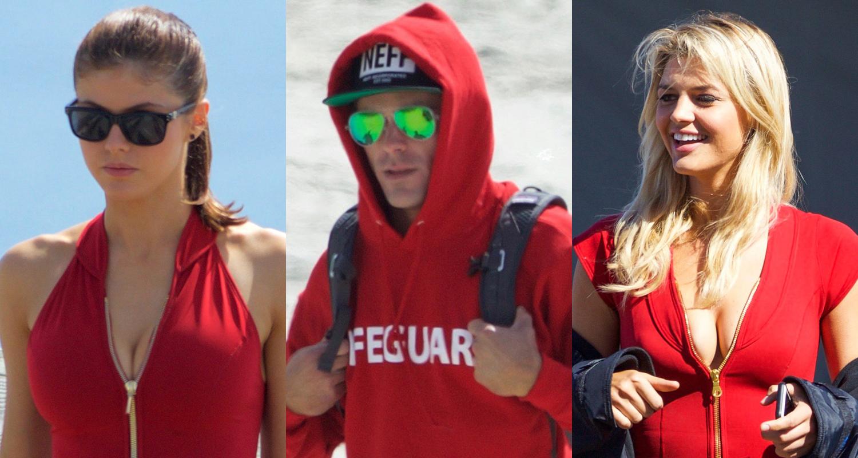 Zac Efron & Alexandra Daddario Hit the Beachy 'Baywatch ...