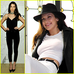 Bella Hadid Launches Her Joe's Jeans Campaign