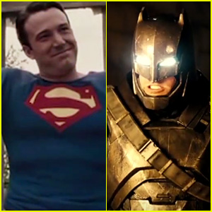Ben Affleck Fights Himself in 'Batman v Superman' Parody Trailer - Watch Now!