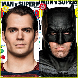 Ben Affleck & Henry Cavill Talk 'Batman v Superman' with 'EW'