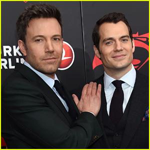 Ben Affleck & Henry Cavill Respond to 'Batman v Superman' Negative Reviews