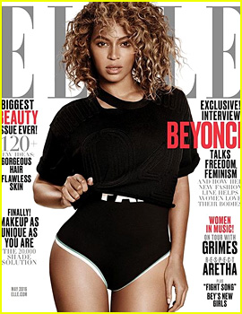 Beyonce Covers 'Elle' May 2016