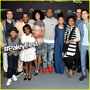 Anthony Anderson & Tracee Ellis Ross Joke About Past Feud at 'black-ish' PaleyFest Panel