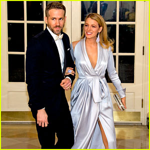 Blake Lively & Ryan Reynolds Are Picture Perfect at State Dinner