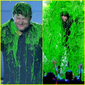 Blake Shelton Gets Slimed on Kids' Choice Awards 2016 - Watch Now!