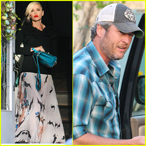 Gwen Stefani & Blake Shelton Spend Easter with Her Parents & Kids!