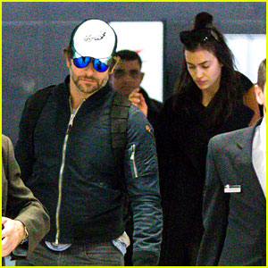 Bradley Cooper & Irina Shayk Fly to NYC Together