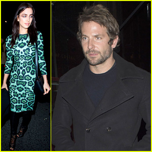 Bradley Cooper & Irina Shayk Hop in Backseat After Givenchy Show