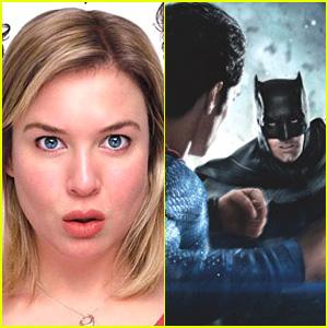 'Batman v Superman' & 'Bridget Jones' Trailer Mash-Up: Batman Impregnates Bridget! (Video)