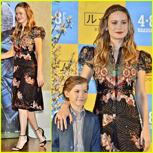 Brie Larson & Jacob Tremblay Talk 'Room' Together in Tokyo