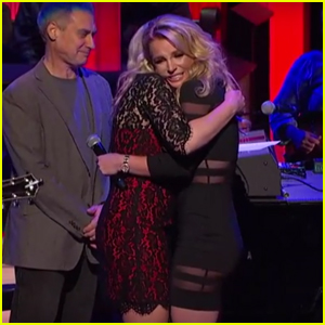 Britney Spears Surprises Sister Jamie Lynn at Grand Ole Opry