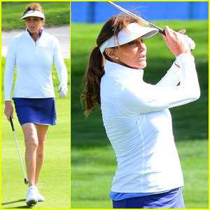 Caitlyn Jenner Says She Plays Golf Better With Boobs