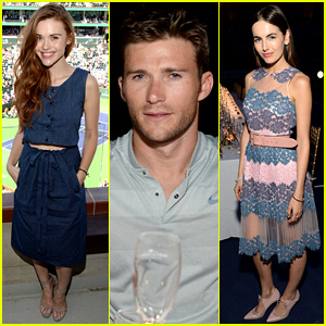 Holland Roden, Scott Eastwood, & Camilla Belle Take in Tennis with Moet & Chandon!