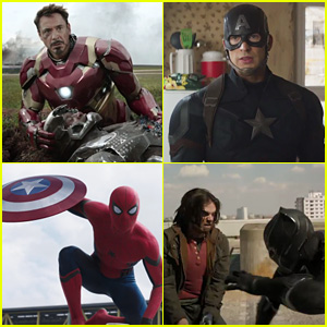'Captain America: Civil War' Trailer Shows Marvel Heroes at Odds - Watch Now!