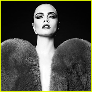 Cara Delevingne Makes Surprise Return to Modeling With Saint Laurent Campaign