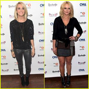 Carrie Underwood & Miranda Lambert Perform at Country Music Festival in London!