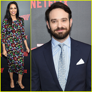 Charlie Cox & Rosario Dawson Say 'Daredevil' Is A Role Model & Hero For Disability!