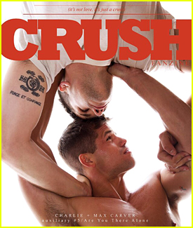 Charlie & Max Carver Cover 'Crush' Fanzine Collectors Issue