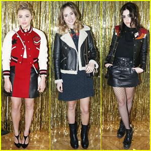 Chloe Moretz, Suki Waterhouse & Charli XCX Have A Prom At Coach Paris Flagship Opening!