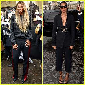 Ciara & Kelly Rowland Attend Haider Ackermann Paris Fashion Week 2016 Show
