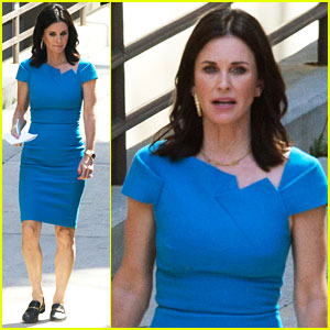 Courteney Cox Gets to Work on New Fox Pilot 'Charity Case'