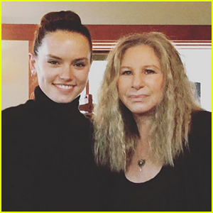 Is Daisy Ridley's Mystery Duet Partner Barbra Streisand? This Photo May Be Proof!