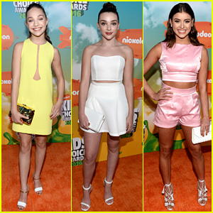 Dance Moms Cast Hits Up Kids Choice Awards 2016 2016