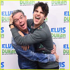 Darren Criss Promotes 'Broadway Today' In New York City