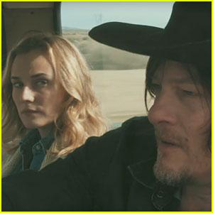 Diane Kruger & Norman Reedus Fall in Love in 'Sky' Trailer