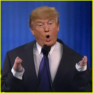 Ellen DeGeneres Spoofs Donald Trump with 'Small Hands' Parody