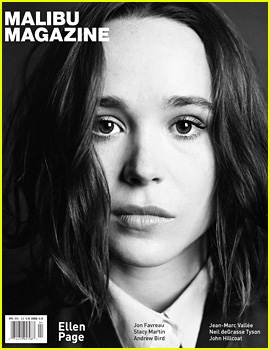 Ellen Page Covers 'Malibu' Magazine April 2016