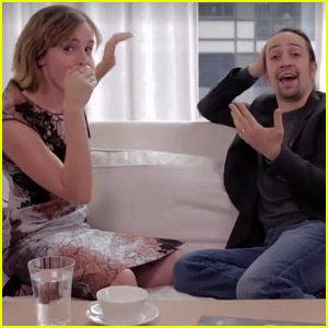 Emma Watson Shows Off Her Beatboxing Skills With 'Hamilton' Star Lin-Manuel Miranda